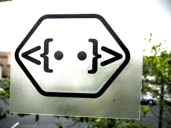 Shinybot Transfer Sticker