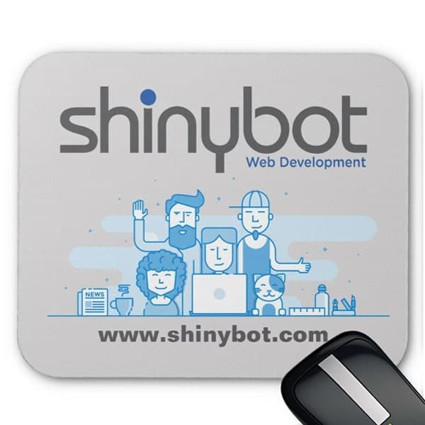 Shinybot Mousepad