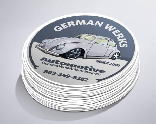 German Werks Sticker