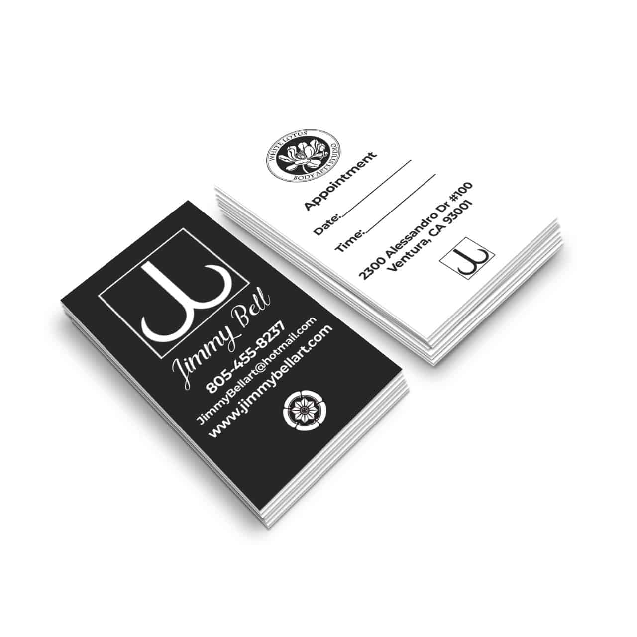 df99c57c Jimmy Bell Business Cards - Shinybot